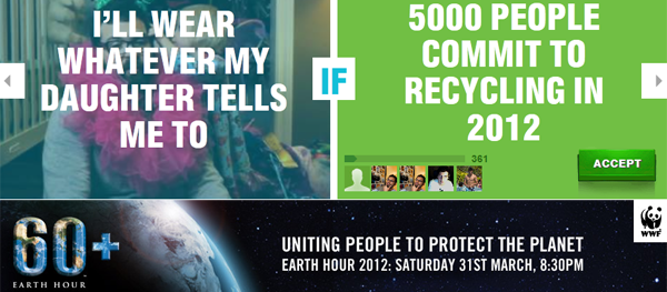 Earth Hour 2012 – Dare Us To Protect Our Planet