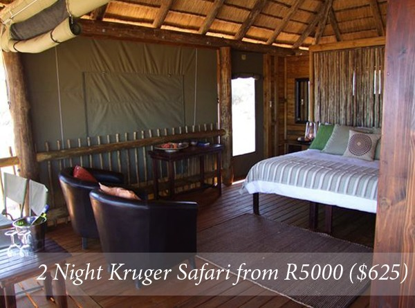 2 Night Kruger Safari Break from R5000 per person sharing all inclusive