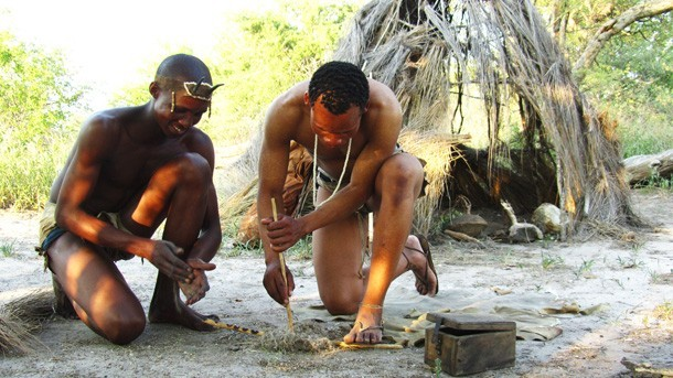 Traditional Fire-making from the Bushmen