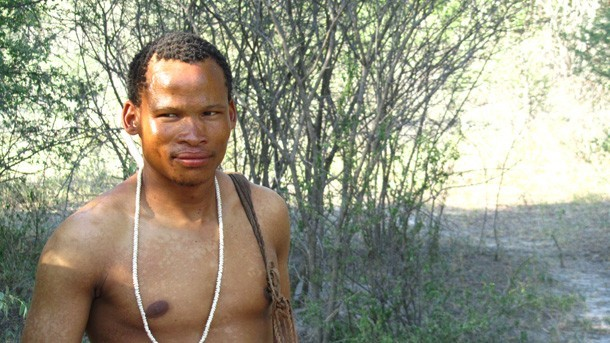 Bushmen at Haina Kalahari Lodge