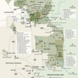 Sun Safaris Kruger Area Map