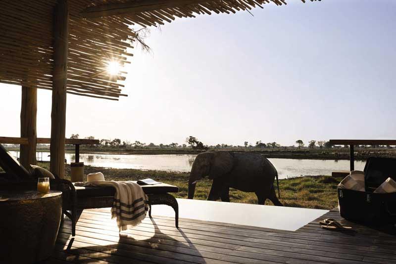 Okavango Delta's Belmond Eagle Island Lodge Re-Opens