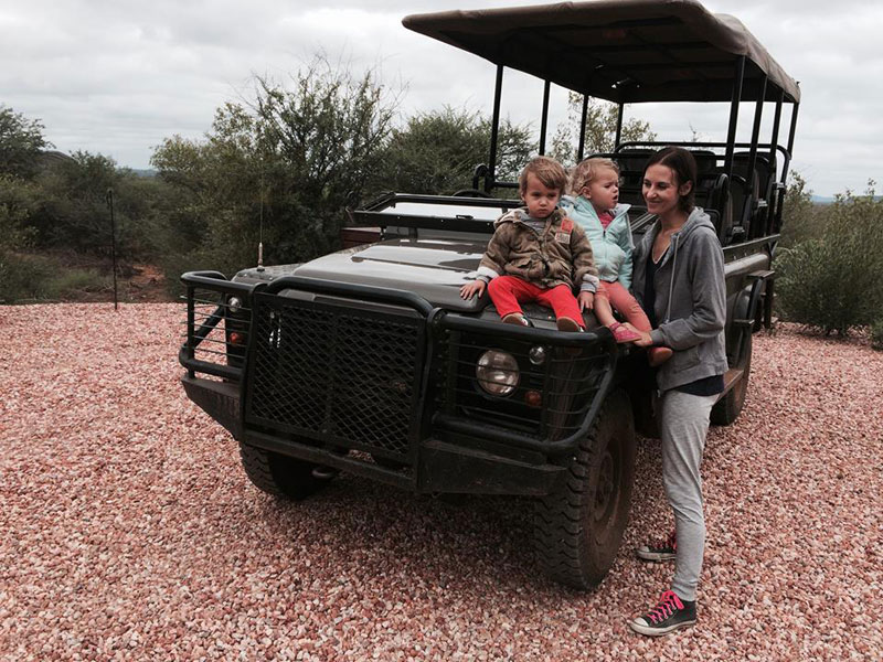 safari to madikwe, Liselle Takes Tiny Toddlers on Safari to Madikwe