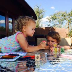 Liselle Takes Tiny Toddlers on Safari to Madikwe