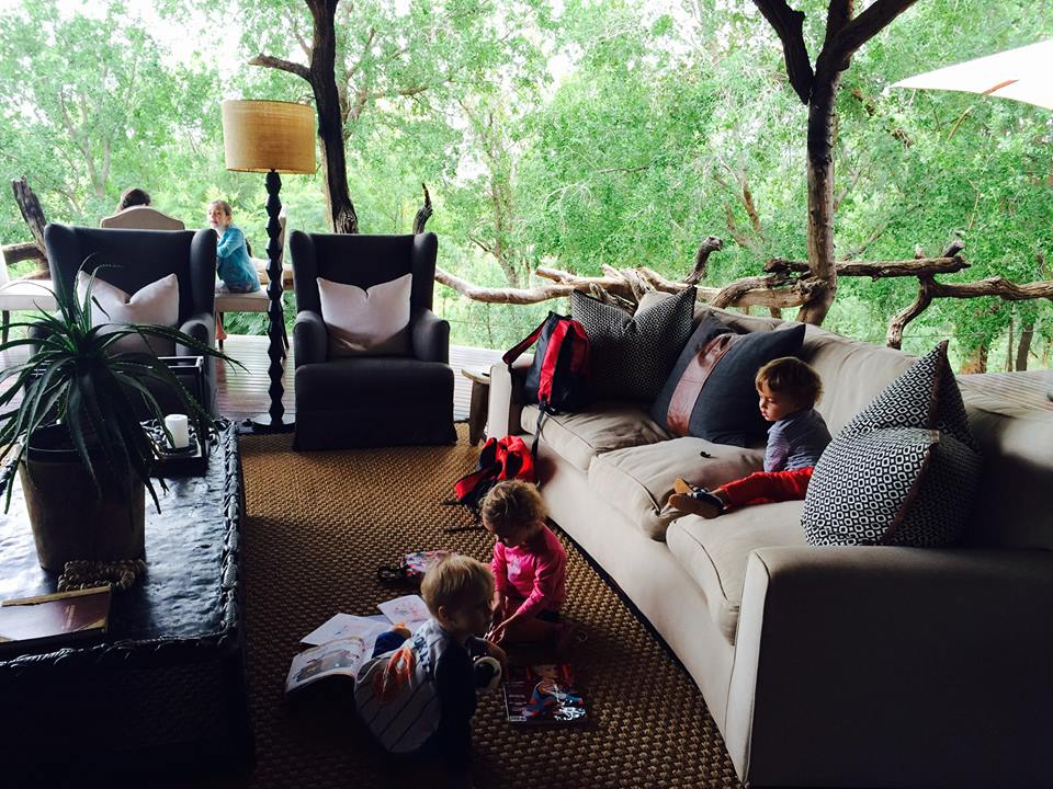 Kids Playing in the Lounge