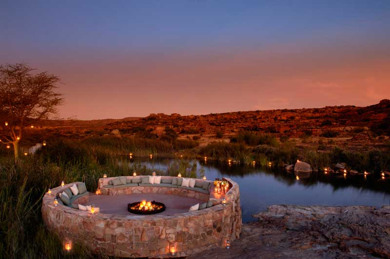 Safari Campfire  - Iconic Images of Africa