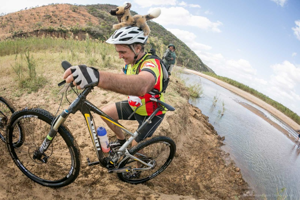 Cycling for African wild dogs in the Wild Series iMfolozi Mountain Bike Challenge