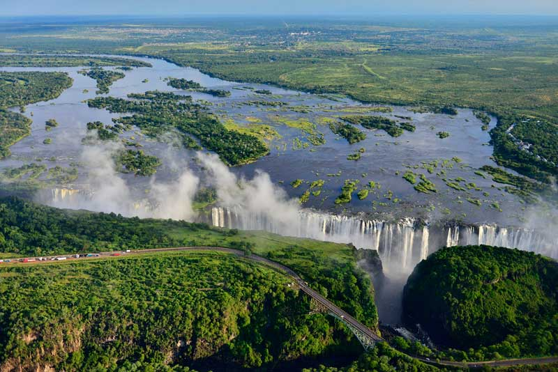 Victoria Falls River Lodge Falls