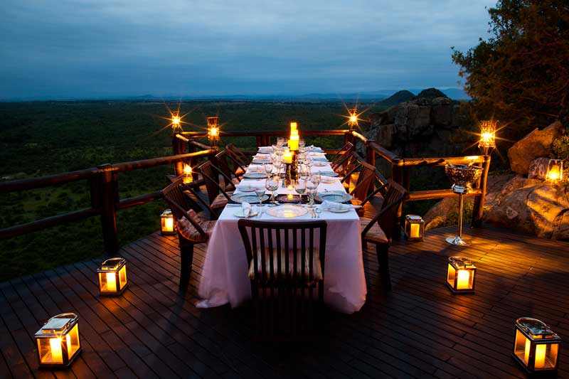 Ulusaba Rock Lodge Romance