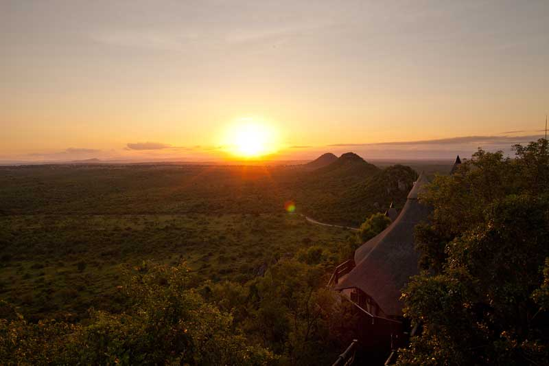 Your Consultant Michelle Just Visited Ulusaba Rock Lodge