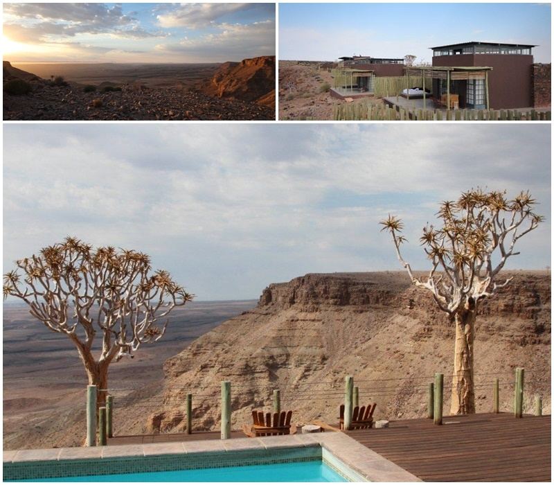 The Fish River Lodge makes use of the amazing views!