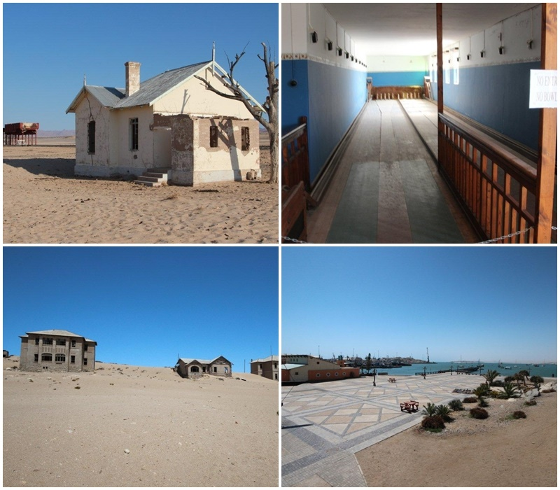 Ghost town Kolmanskop near Luderitz, the desert has claimed back much of this once bustling town