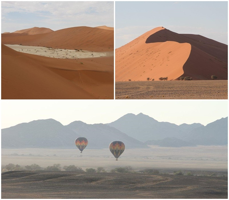Unbelievable colours at Sossusvlei
