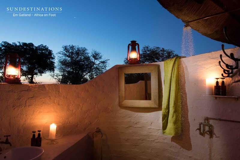Africa on Foot Bathroom