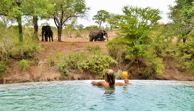 Imbali Safari Lodge Pool