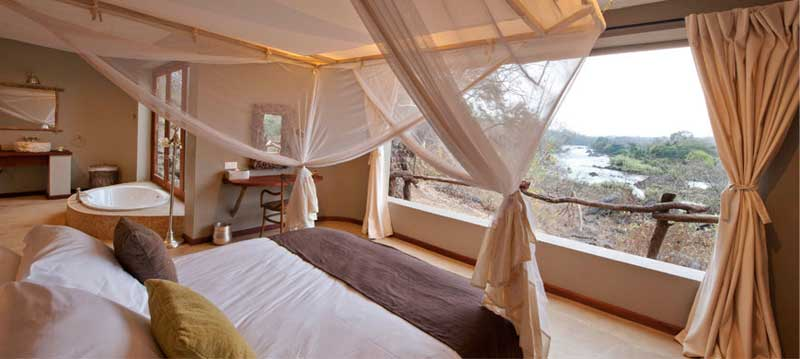Mkulumadzi Lodge Bedroom
