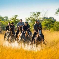 Horseback Safari Along Botswana's Selinda Trail