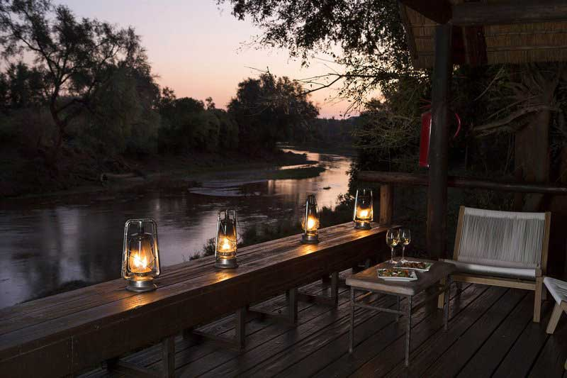 Pafuri Bar Area Overlooking River