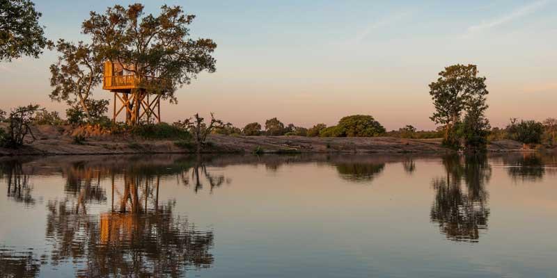 Umlani Bush Camp Dam