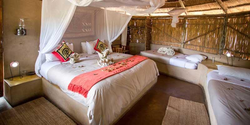 Umlani Bush Camp Bedroom