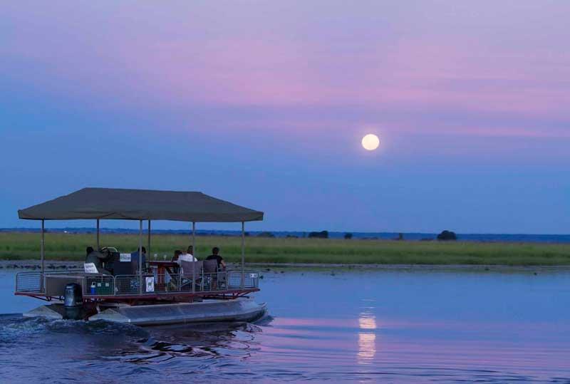 Chobe Game Lodge Sunset