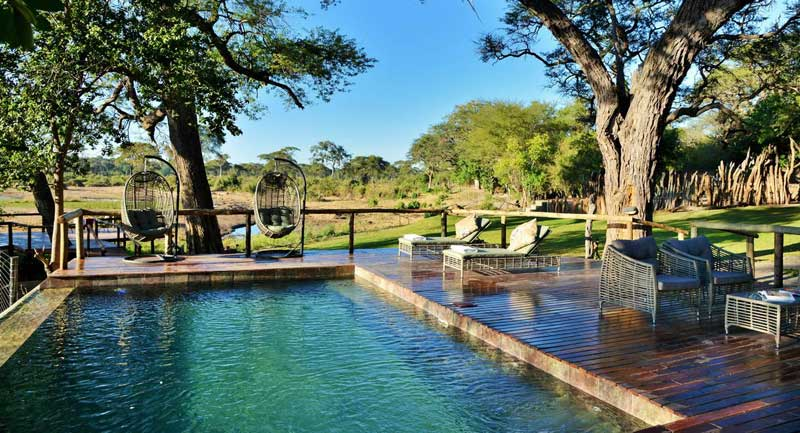 Elephant Valley Lodge Swimming Pool