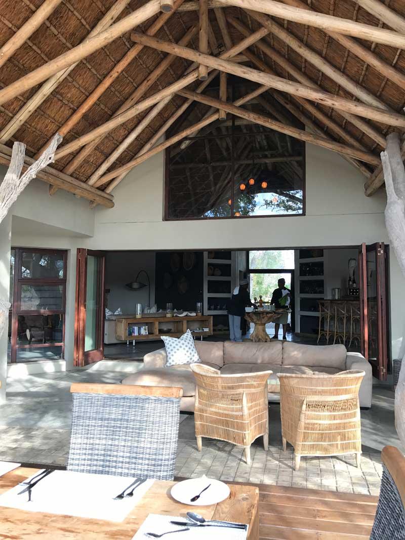 Klaserie River Sands Lounge Area