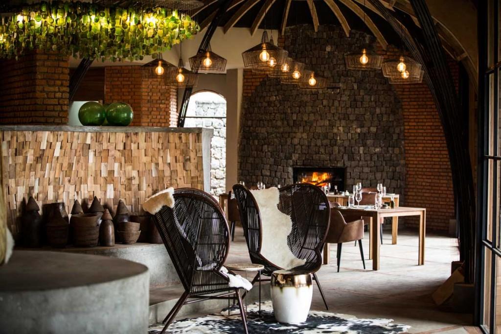 Wilderness Safaris' Bisate Lodge