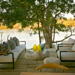 The Zambezi River's Newly Built Victoria Falls Island Lodge