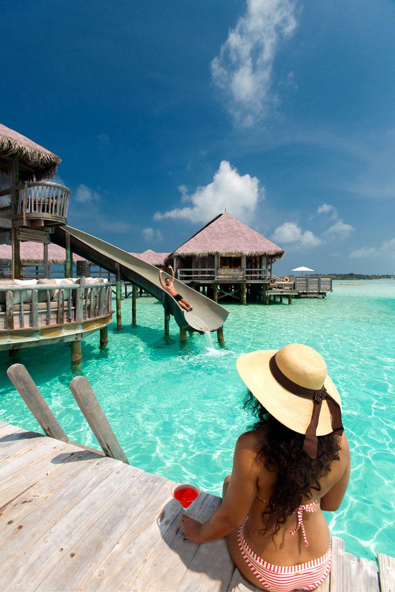 Waterslide Maldives Villa