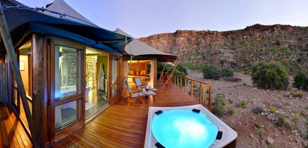 Dwyka Tented Lodge, Sanbona Nature Reserve