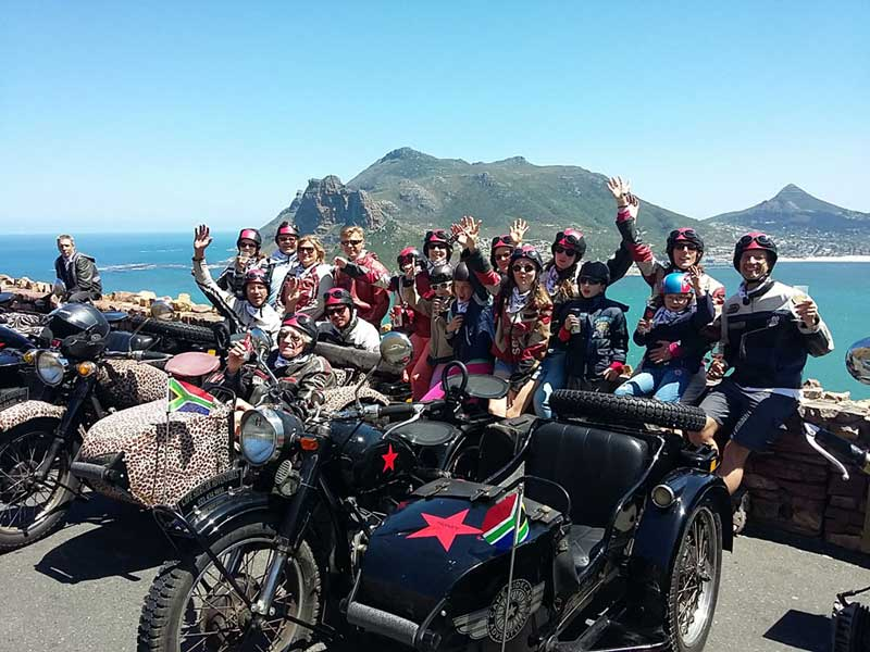 Cape Town Sidecars Tours