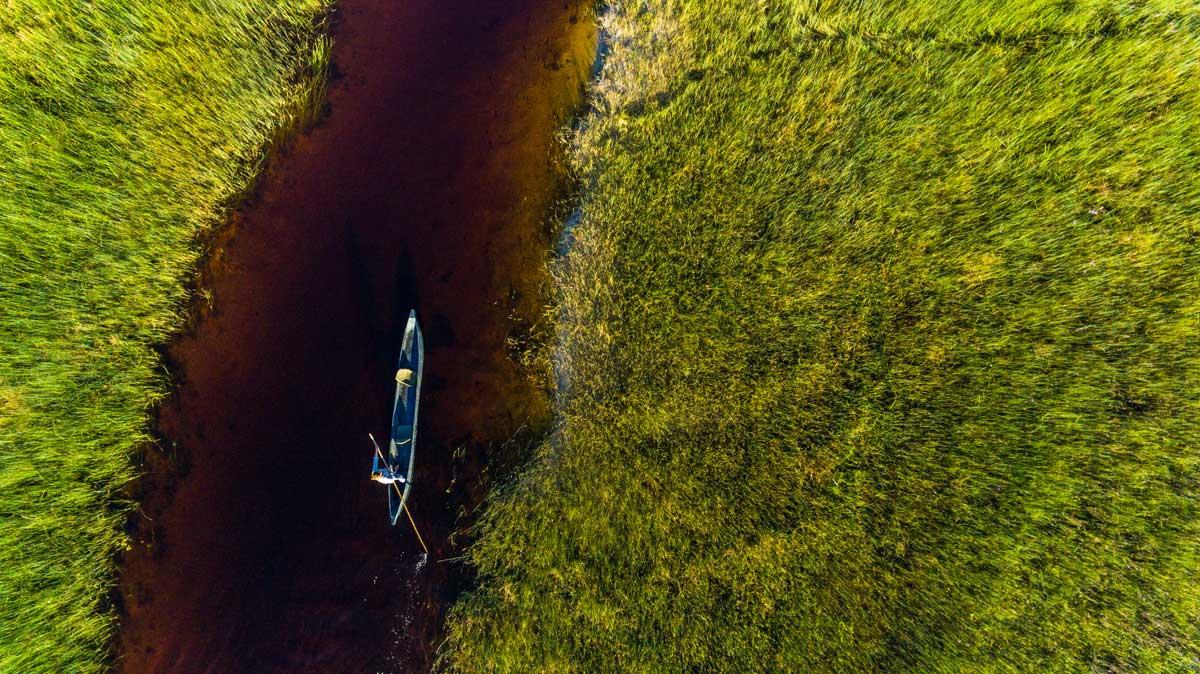 Motswiri Canoe Selinda Spillways