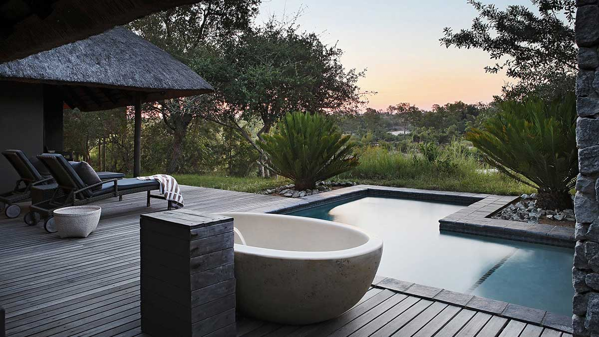 Granite Suite Pool Londolozi