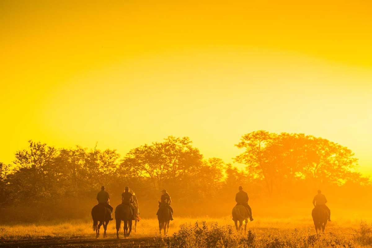 Horse Riding RAW Botswana