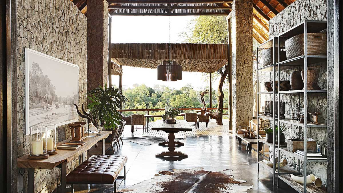 Londolozi Suites Lounge