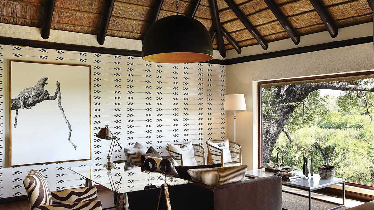 Lounge Tree Camp Londolozi