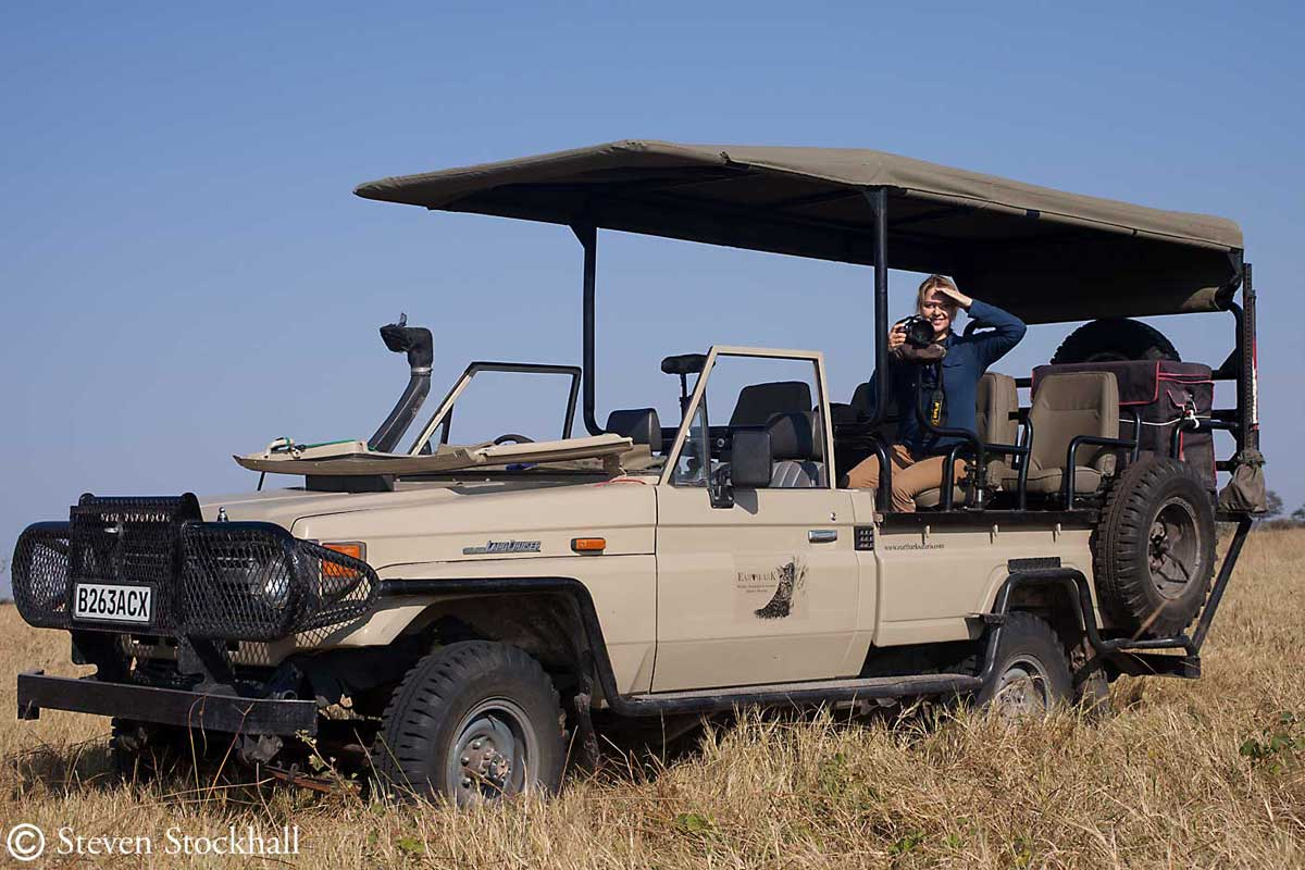 Pangolin Safaris Vehicle