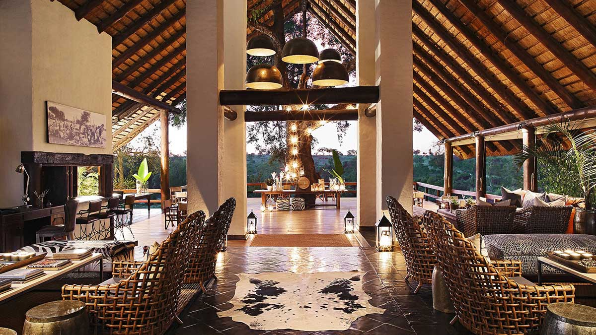 Varty Londolozi Lounge Viewing Deck