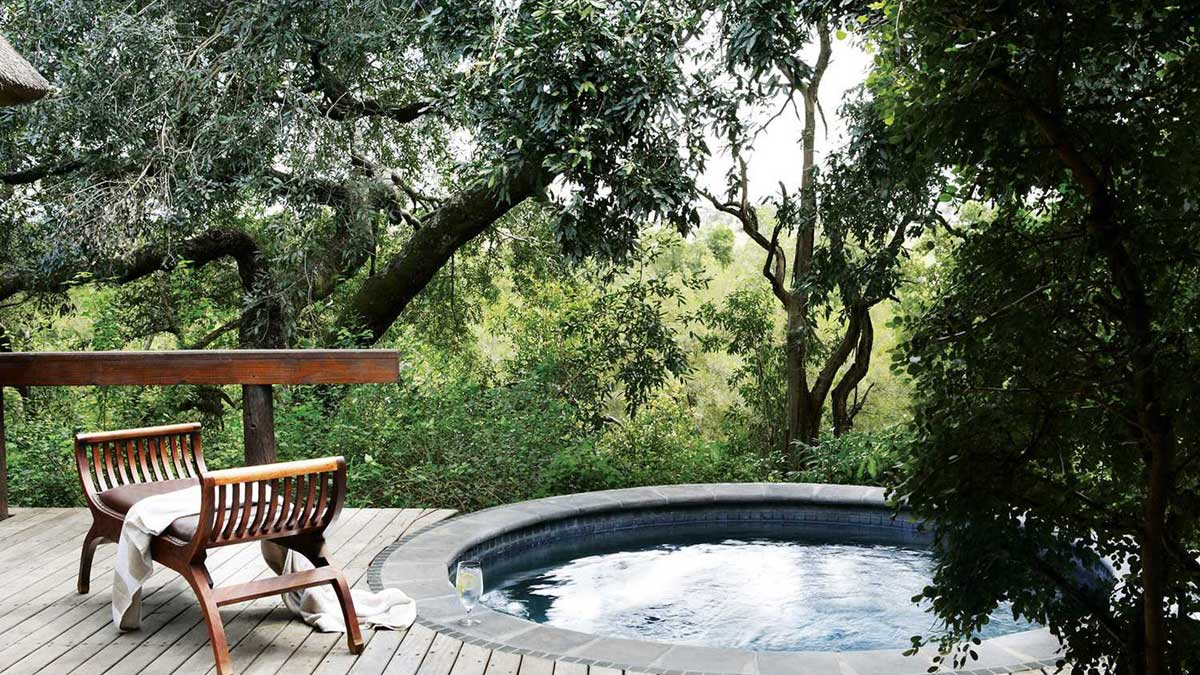 Varty Londolozi Private Swimming Pool