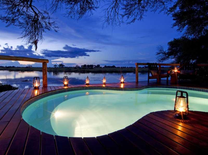 Kwando Lagoon Swimming Pool