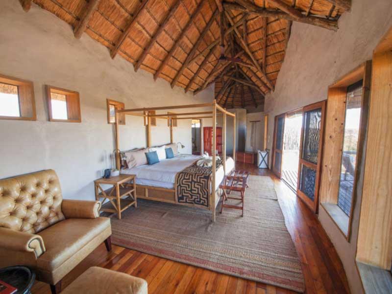 Tau Pan Large Bedroom Kalahari