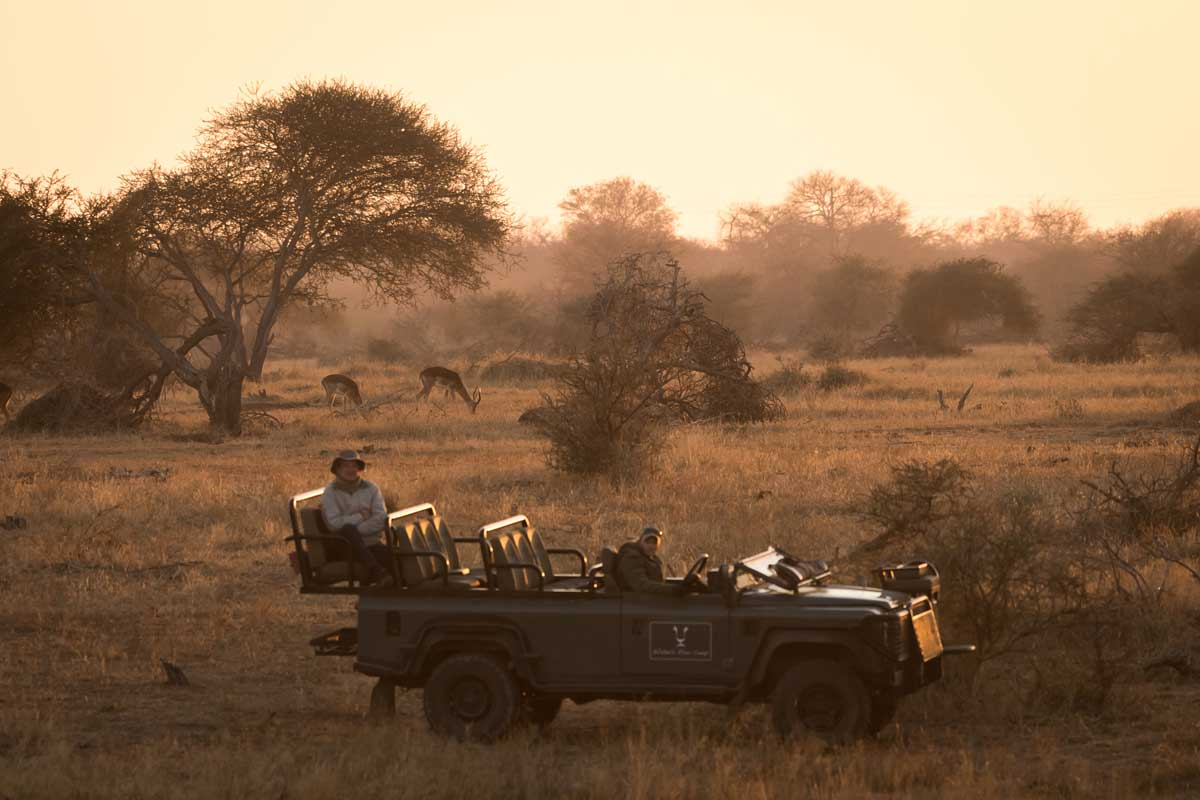 Walkers Game Drive Vehicle