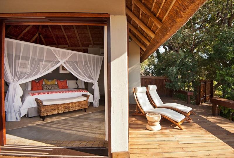 Klaserie Sands Lodge Wooden Decking