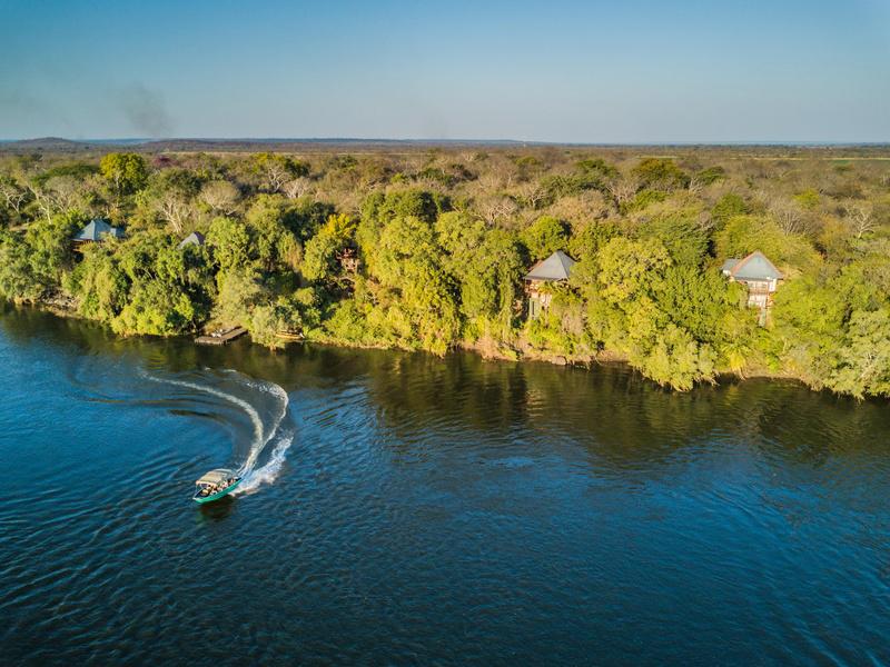 Zambezi River River Club Victoria Falls