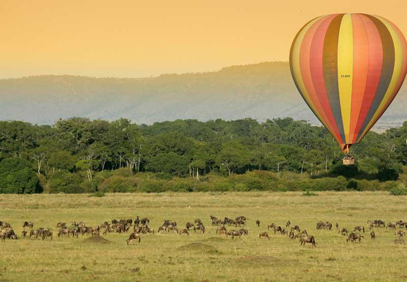 Masai Mara Hot Air Balloon