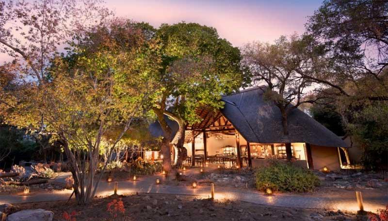 Ngala Safari Lodge Entrance