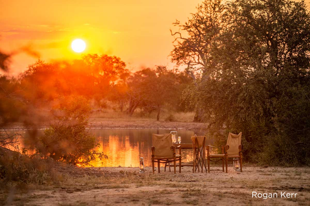 Game Drive Sundowner Africa on Foot