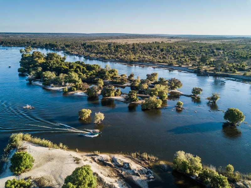 River Club Victoria Falls Views