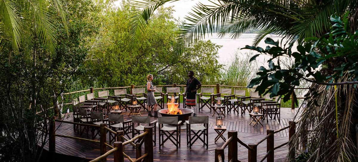 Sanctuary View of Zambezi